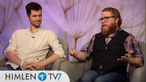 Dannie Tinglöf och Erik Borg på himlen TV7