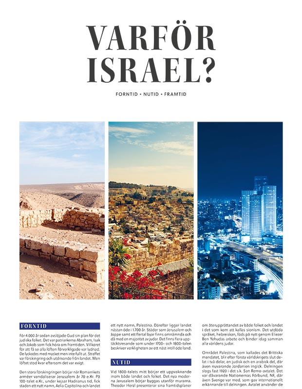 Varför Israel Tabloid 2021