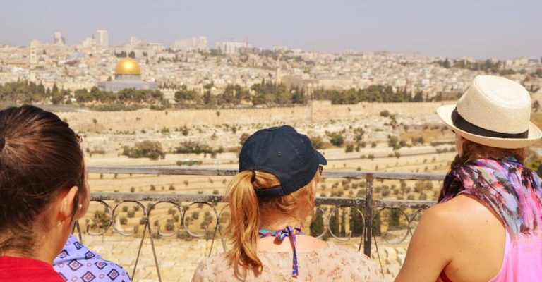Jerusalem - tempelplatsen - olivberget